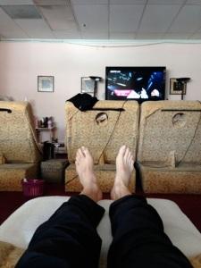 Foot Massage In Chinatown